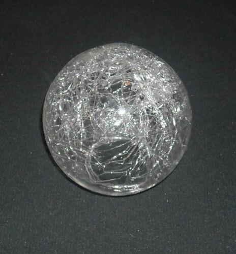 8,7 cm Lampenschirm Halogen Glas Glasschirm Ersatz K1150 Ø ca