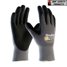 34 844 Maxiflex Ultimate Nitrile Microfoam Coated Work Gloves With Dotted Palms
