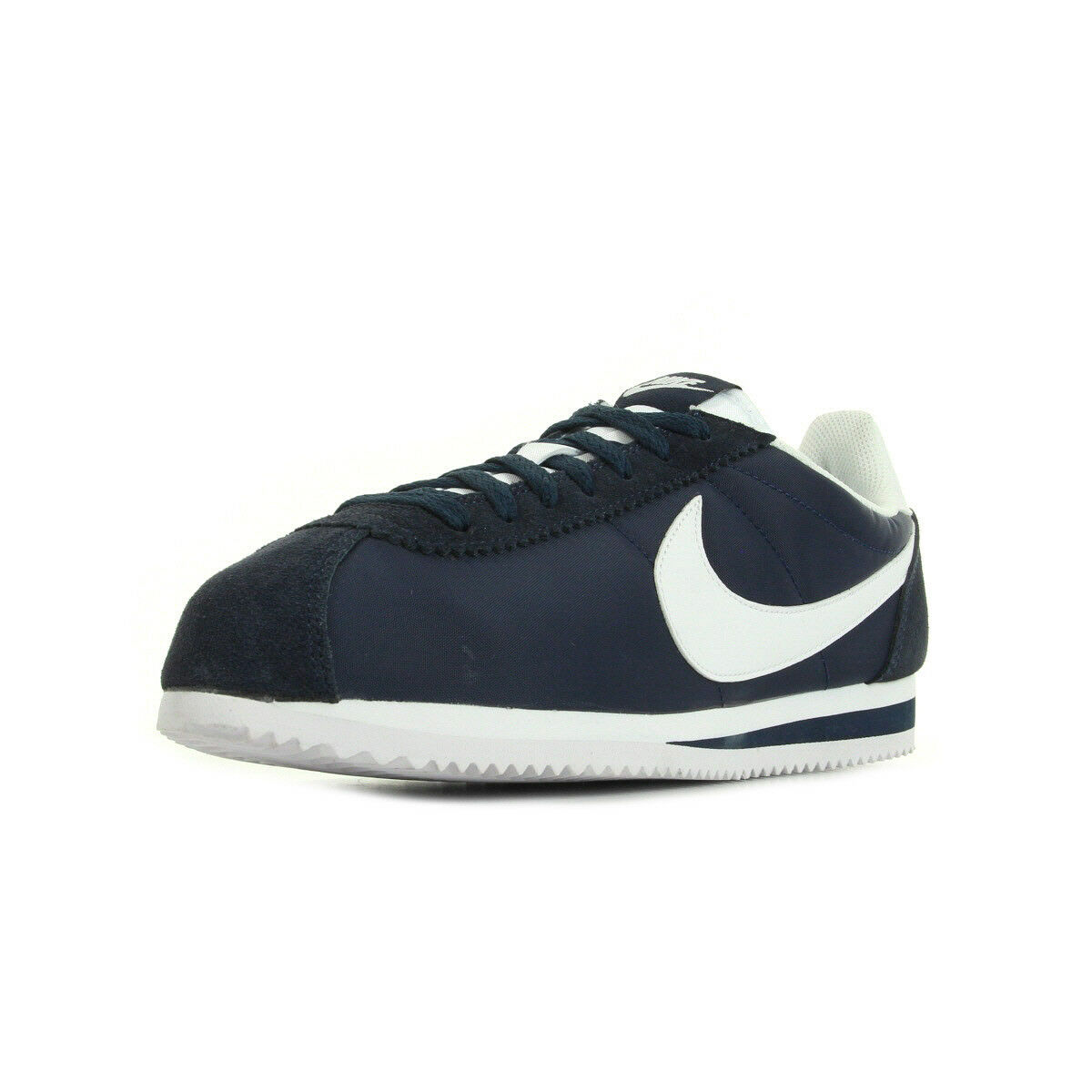 Nylon Chaussures Marine Classic Cortez Baskets Taille Nike Unisexe xSz16p