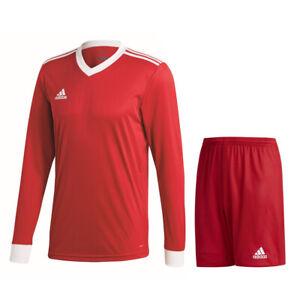 Details about Adidas Football Soccer Kids Boy Training Kit/Set Long Sleeve Jersey/Shirt Shorts
