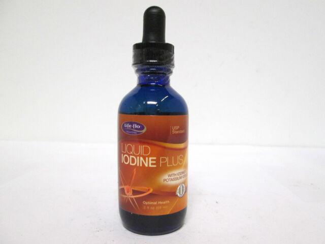 Life-Flo Liquid Iodine Plus w/ Iodine & Potassium Iodide - 2 oz [VS-A-L]