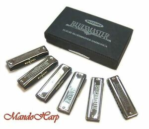Suzuki-Harmonicas-MR-250-S-Bluesmaster-Box-Set-NEW