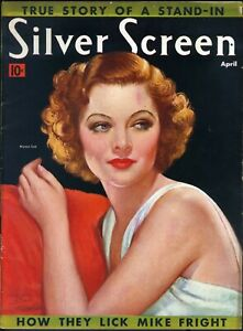 SILVER-SCREEN-APR-1938-MYRNA-LOY-cover-artist-MARLAND-STONE