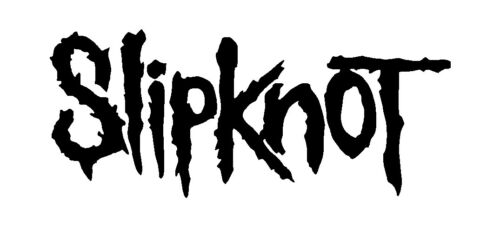 Slipknot Vinyl Decal Car Window Laptop Guitar Metal Band Logo Sticker