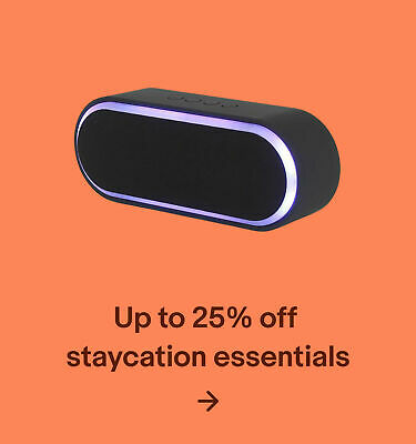 Up to 25% off staycation essentials