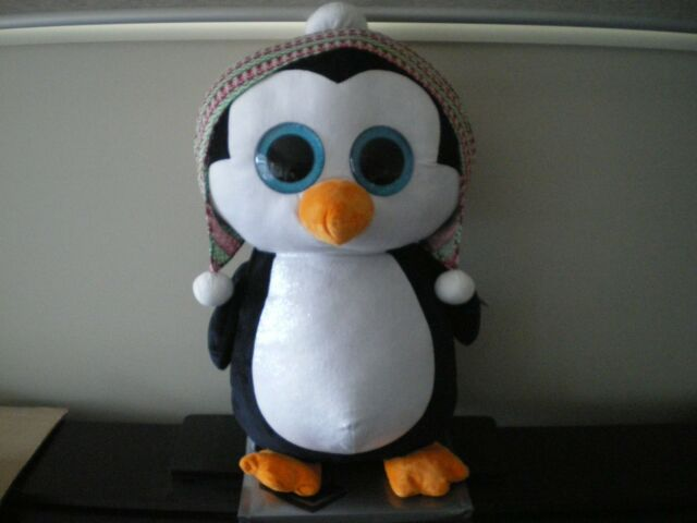 08f017fba7e Ty Beanie Boos Penelope Penguin Soft Stuff Plush Children Toy Extra ...