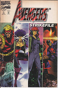 AVENGERS-STRIKEFILE-N-1-Albo-in-Americano