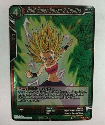 1X NM Sister Attack Saiyan Caulifla TB1-013 Uncommon Dragon Ball Super CCG
