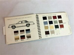 1980 1981 Ford Exterior Paint Color Booklet With Colors By Paint Code Ebay