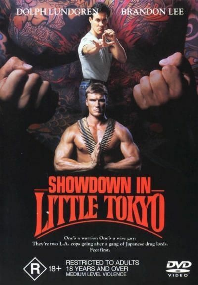 Showdown In Little Tokyo (DVD, 2001) Dolphin Lundgren, Brandon Lee - Free Post!
