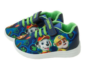 BOYS-PAW-PATROL-CHARACTERS-CASUAL-TRAINERS-SPORTS-SHOES-KIDS-UK-SIZE-5-10