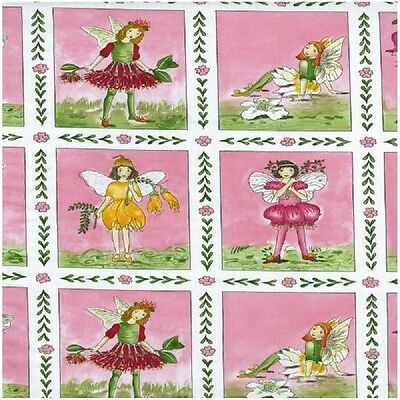 Let/'s Play Retro Children Panel Cotton Quilting Fabric 60cm x 110cm Benartex