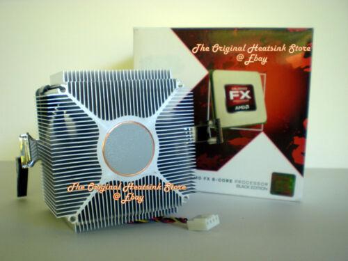 NO CPU AMD FX 6100 Heatsink CPU Cooling Cooler Fan for 3.3 3.9 GHz Skt AM3+ New