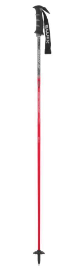 Swix Excalibur ski poles, red 52  (130cm) NEW