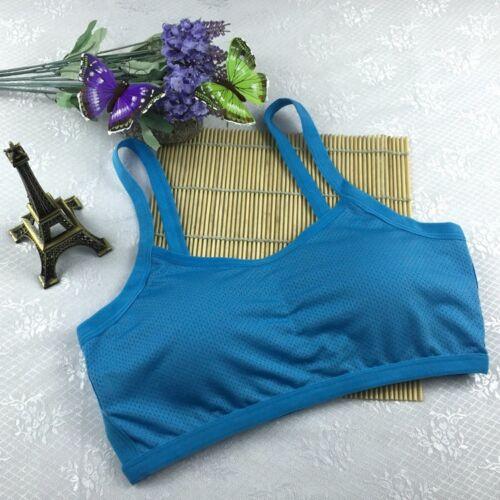 AU Women Yoga Sport Workout Tank Top  Sports Bra Padded Crop