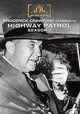 Highway Patrol - Season 1 (1955 Broderick Crawford) - Region Free DVD - Sealed
