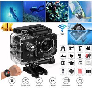 4K Wifi Full HD1080P Sports Action Camera DVR DV Camcorder Helmet Cam Waterproof