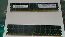 4GB RAM PC2-3200R-333 DDR2-400 MHZ 2x 2GB ECC REGISTERED 73P2867 SERVER WORKStat