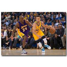 Kobe Bryant Basketball Sport Silk Canvas Poster 13x20 24x36/'/'