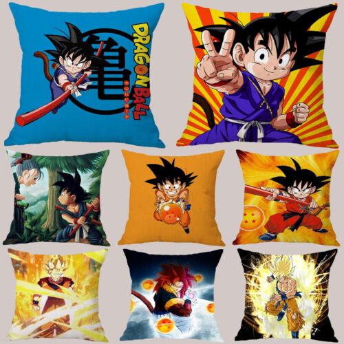 Super Saiyan Dragon Ball Z Peach Skin Pillowcases Home Sofa Decor Cushion Cover