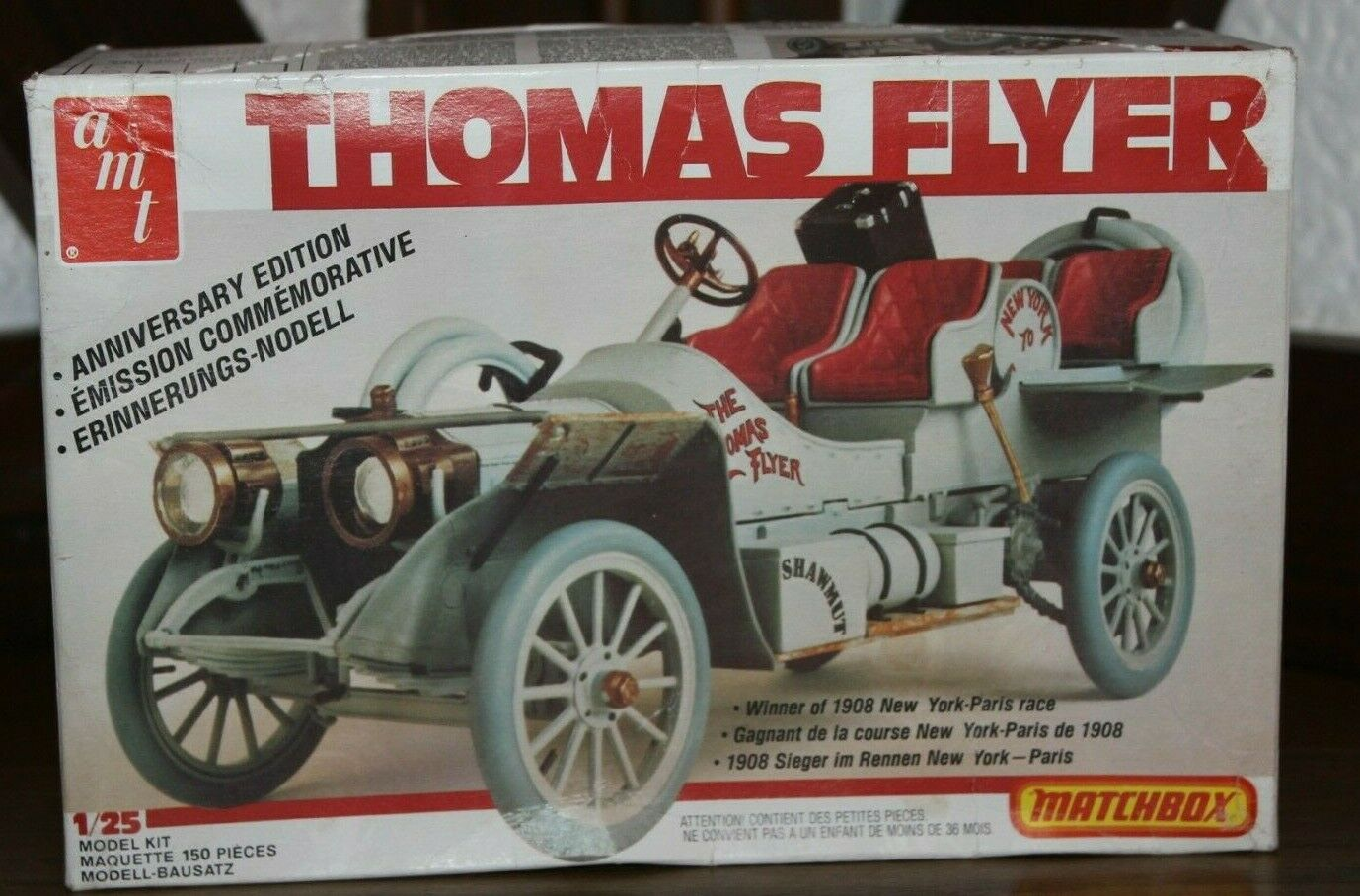 Amt  PK-4101  1 25 Kit Thomas Fliegener  Anniversary Edition  Matchbox OVP
