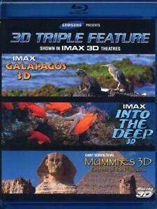 Samsung-IMAX-3D-Triple-Feature-Galapagos-Into-the-Deep-Mummies-MINT-DISC-RARE
