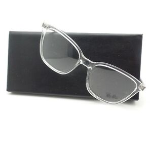 56a3d879b0ee4 Image is loading AUTHENTIC-Ray-Ban-7066-5768-Transparent-RB-RX-