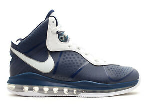 27bb384c3d75 Nike LeBron 8 V 2 New York Yankees Navy White Size 13. 429676-400