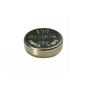 #377 (SR626SW) Renata Mercury Free Watch Batteries - Strip of 10