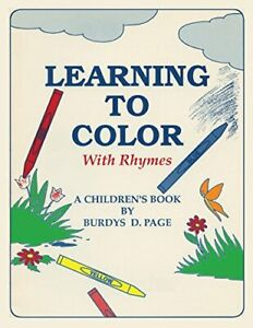Learning-to-Color-with-Rhymes-Page-D-New-9780865341463-Fast-Free-Shipping