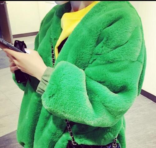 Fur Thicken Parka Outwear Warm Koreansk Winter Coats Loose Faux Jakke Kvinders qZ4wx5E1q