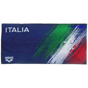 Dettagli su 10567 BIS ARENA FIN FEDERAZIONE ITALIANA NUOTO TELO ITALIA ASCIUGAMANO PISCINA