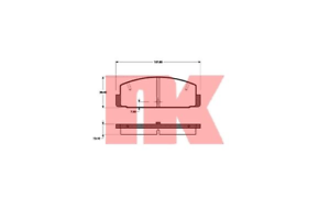 Bremsbelagsatz-Frein-A-Disque-NK-223225