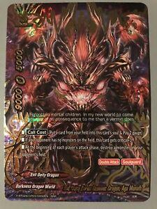 Details about FUTURE CARD BUDDYFIGHT EVIL DEITY KARMA DEMONIC DRAGON AGA  MANAFH X-BT02A RRR