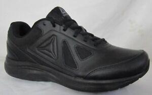 9510f58a3c2597 Reebok Walk Ultra 6 DMX Max 4E Black Men Walking Shoes 9