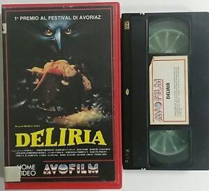 Deliria-Michele-Soavi-VHS-ex-noleggio-Avofilm
