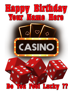Image Is Loading Lucky Casino Las Vegas Cptmi15 Happy Birthday Card