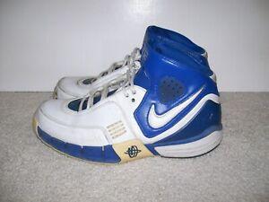 OG SZ 13 Nike Air Zoom Huarache Elite White Blue 314183-113 2K4 2K5 81 1 IV V