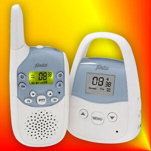 Details zu Alecto DBX 82 digitales PMR Babyphone mit LCD, Akku und bis zu 3 km Reichweite