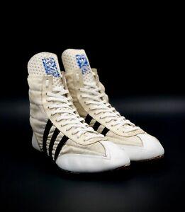 compartir Frente al mar Mentalmente  De Colección Adidas West German Freddie Mercury Westling Zapatos Botas  Talla 8.5 | eBay