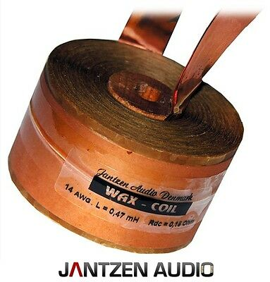 Jantzen Audio Highend Bandspule Waxcoil Wachsspule Awg14, 0,82mh, 0,225ohm Duftendes (In) Aroma