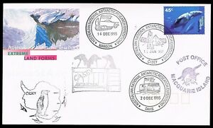 Australia / AAT • 1995/1997 • Base Cancels: Macquarie Is, Mawson, Davis, Casey