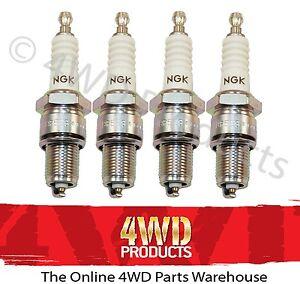 Spark-Plug-SET-NGK-for-Mitsubishi-Triton-MH-MJ-90-96-2-6P-4G54