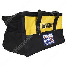 "Dewalt 18"" Heavy Duty Electrical Tool Bag USA New for Drill Impact Recip Saw"