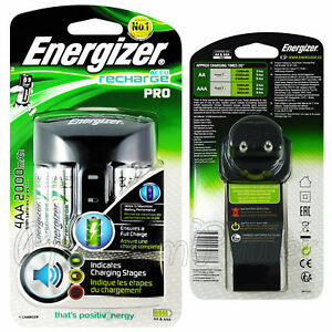 Energizer-PRO-Charger-for-AAA-amp-AA-NiMH-4-AA-2000-mAh-rechargeable-batteries
