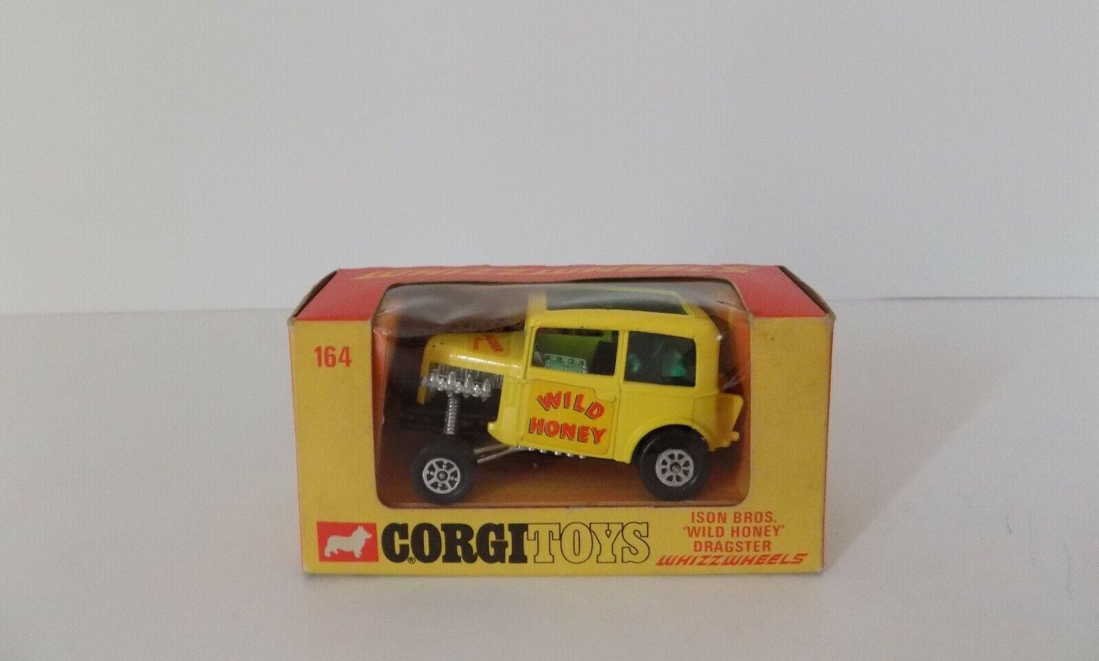 CORGI TOYS WHIZZWHEELS ISON BROS WILD HONEY DRAGSTER EXCELLENT BOXED