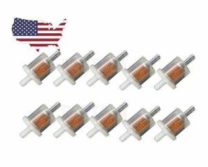 Fuel-Filter-Briggs-amp-Stratton-493629-691035-Fuel-Filter-Lawnmower-Universal-x10