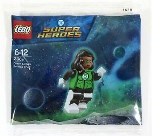 Lego-DC-Green-Lantern-Jessica-Cruz-Minifigur-30617-Polyestertasche-SDCC-NEU-versiegelt