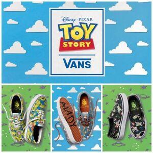 3beefce1bb VANS X Disney Pixar Toy Story Kids Shoes Aliens Buzz Lightyear Woody ...