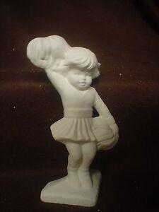 Cheerleader Ceramic Bisque